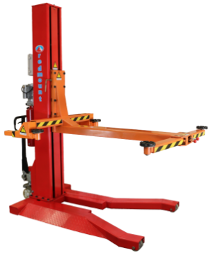 RM-2111 – Single Post Hydraulic Lift | redmount ie